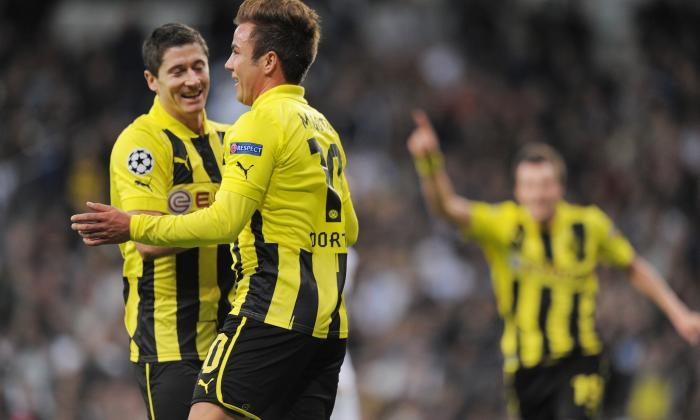 Robert Lewandowski and Mario Gotze were plucked from BVB by Bayern