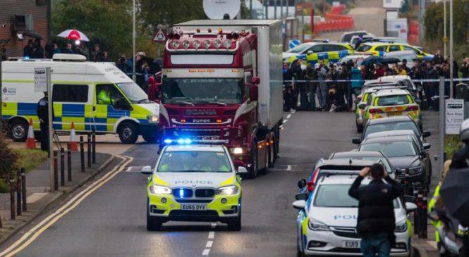 British police: All 39 found dead in trailer were Vietnamese