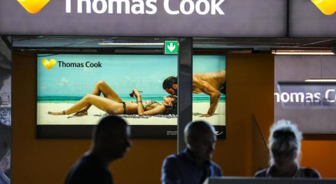 British tour operator Thomas Cook left thousands of customers uninsured