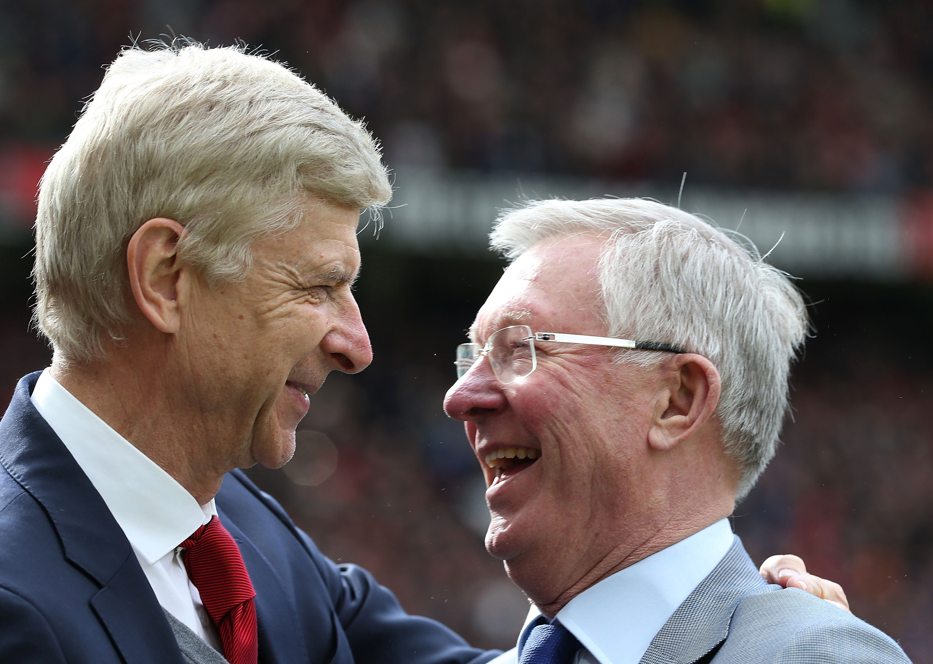 Ferguson and Wenger are two of the greatest managers in Premier League history