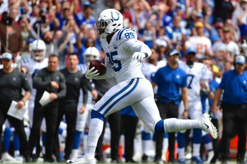 Indianapolis Colts place Pro Bowl TE Eric Ebron on injured reserve