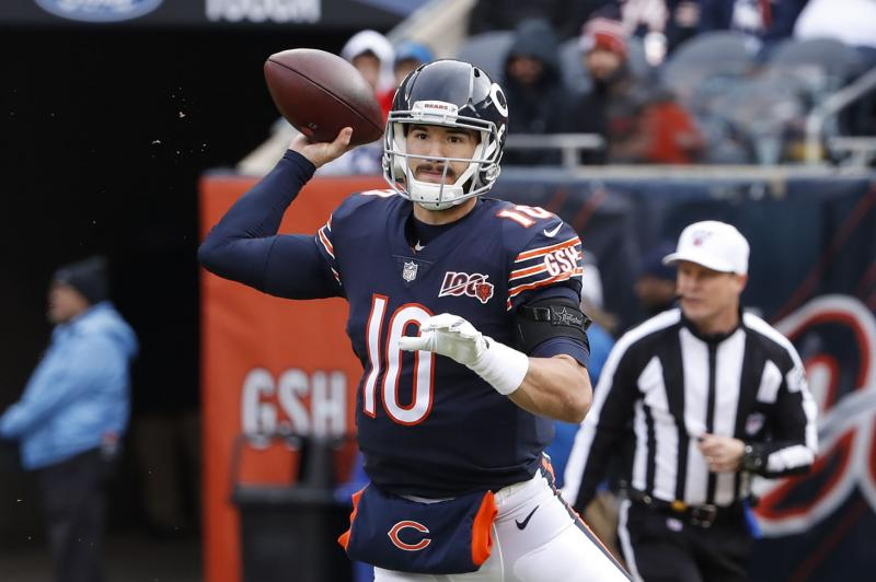 Mitchell Trubisky, Bears stage Thanksgiving comeback vs. Lions