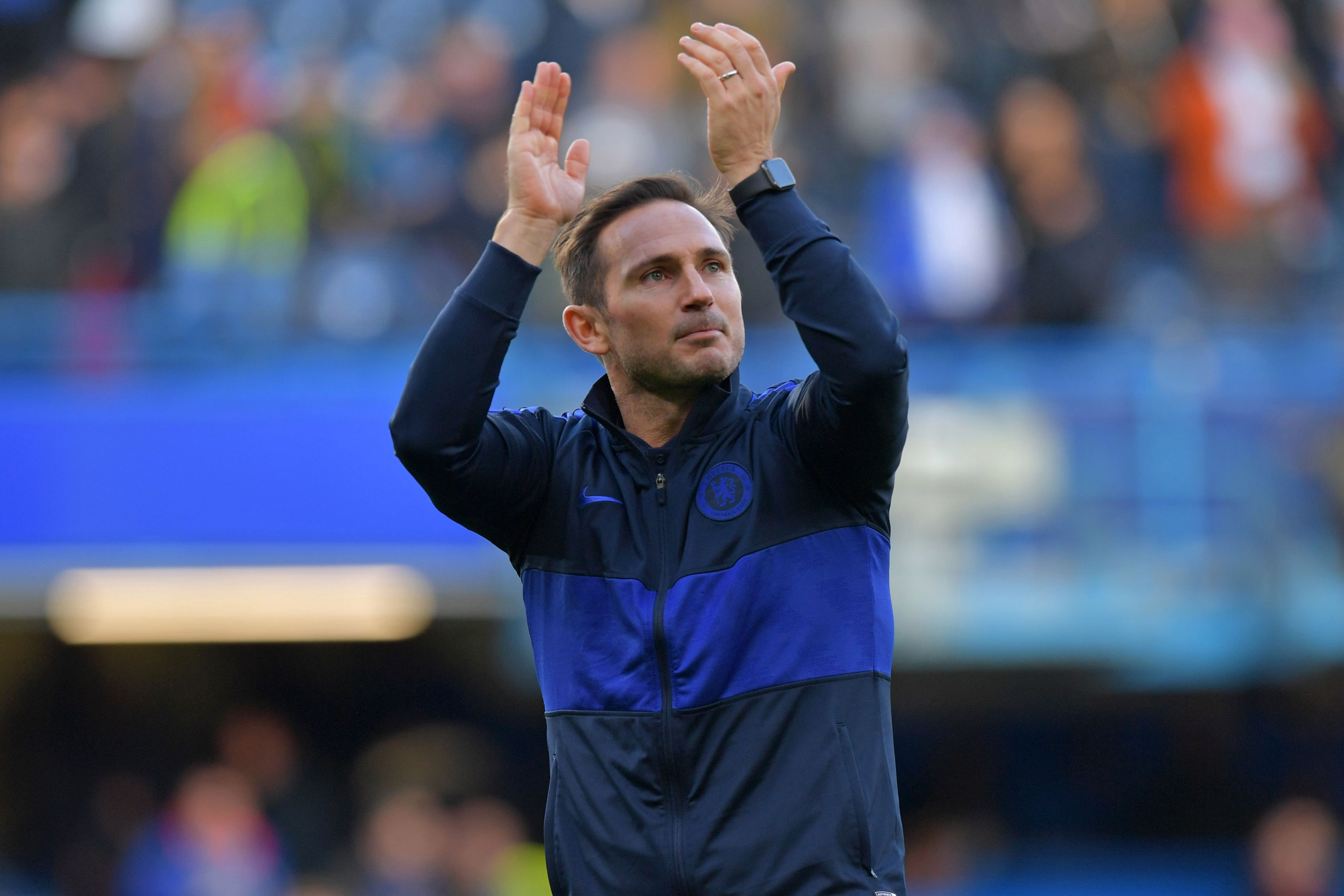 Frank Lampard's Chelsea take on Crystal Palace this weekend