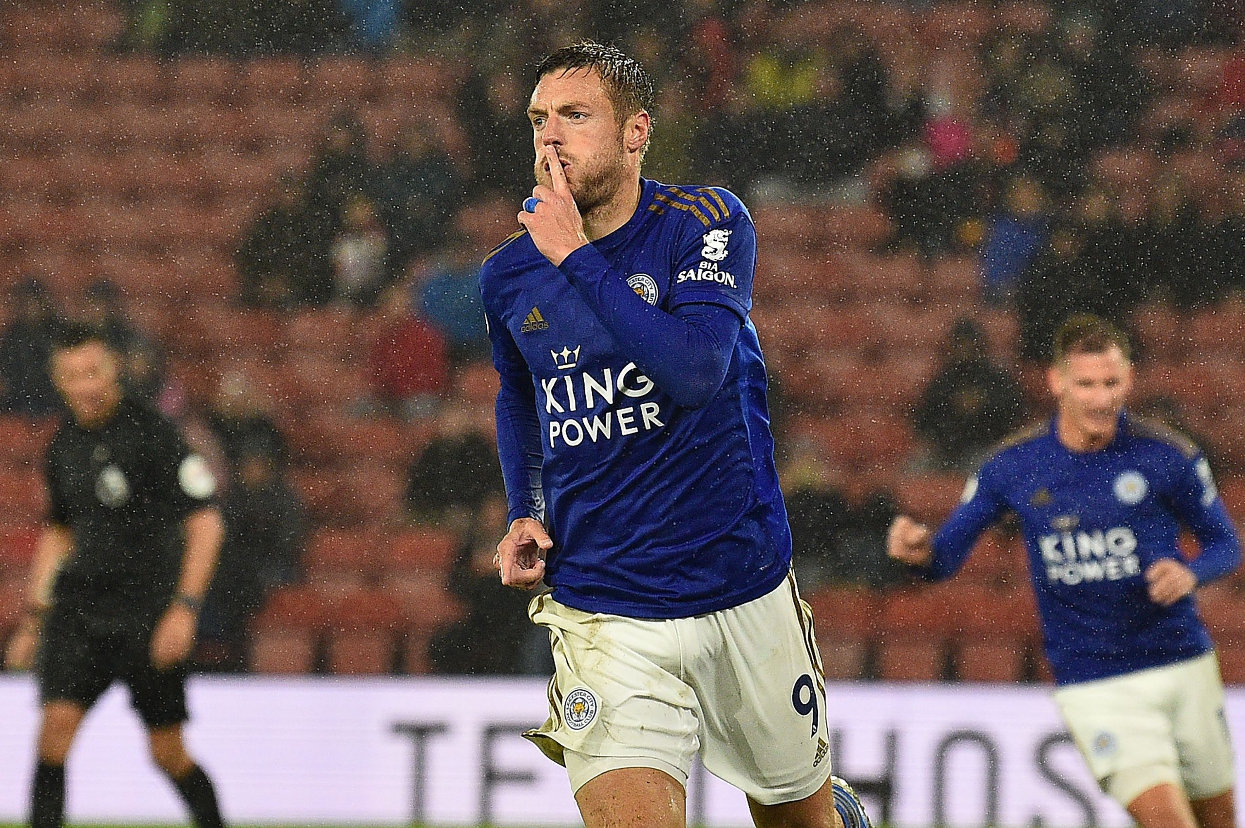 Jamie Vardy and Leicester will be confident of beating Arsenal