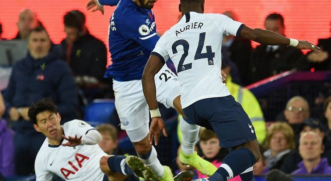 Tottenham boss Mauricio Pochettino bemoans Heung-min Son's red card after Andre Gomes' horrific leg injury