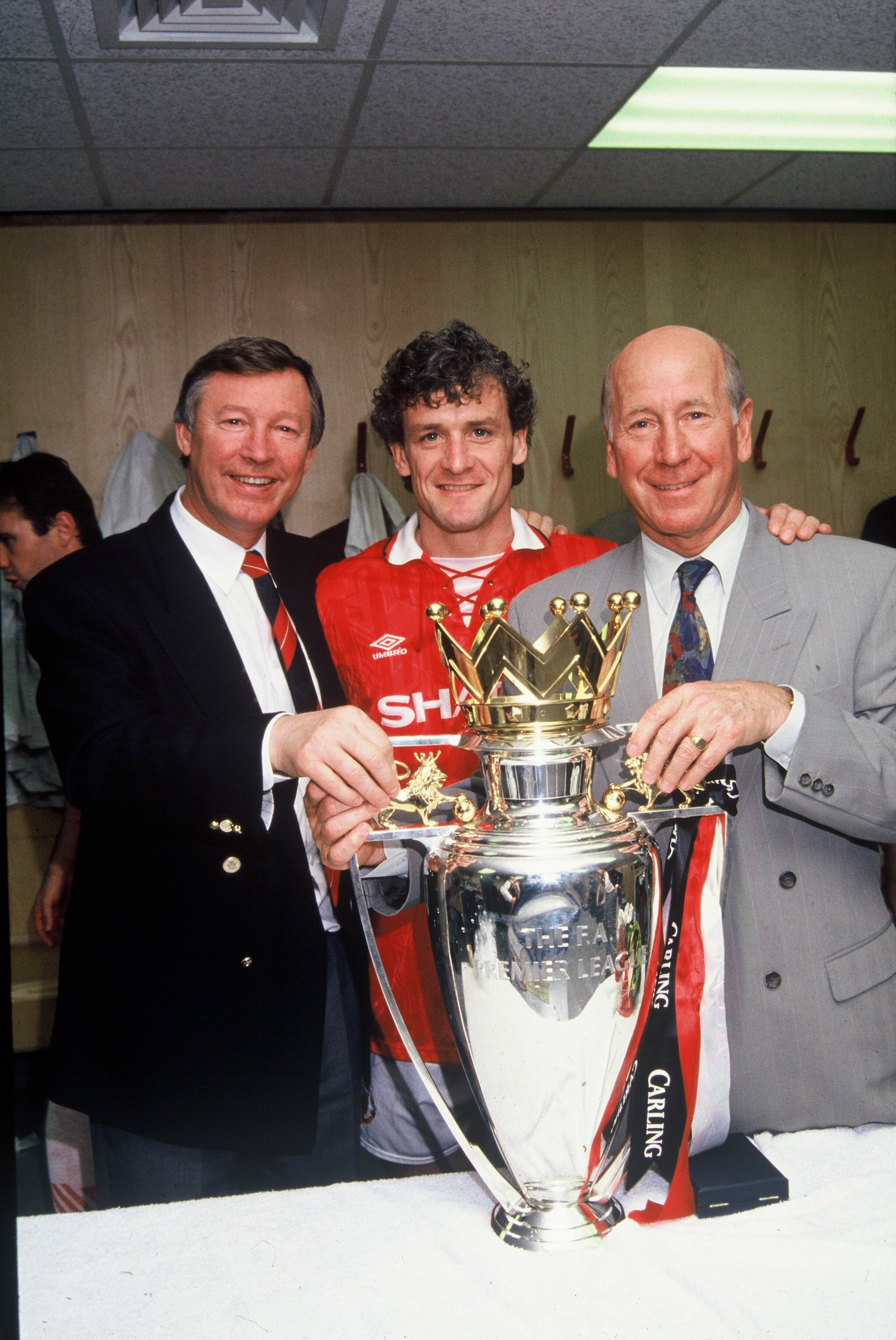 Hughes played for Man United in two spells and was a Premier League title winner during his time there