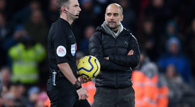 Man City manager Pep Guardiola explains why he lost his cool at Anfield and congratulates Liverpool boss Jurgen Klopp
