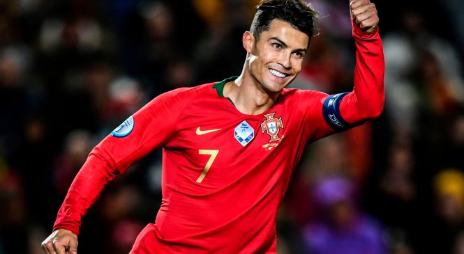 Cristiano Ronaldo now has 98 GOALS for Portugal after latest hat-trick and is closing in on all-time international record