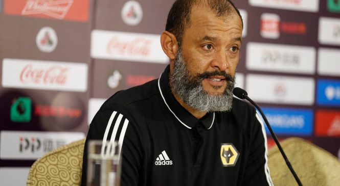 Wolves boss Nuno linked with Arsenal job… but won't talk about replacing Unai Emery as it's 'disrespectful'