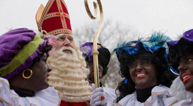 Dutch version of St. Nicholas has controversial sidekick