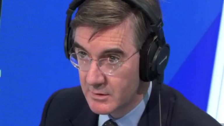 Jacob Rees-Mogg says it is common sense to leave a burning building