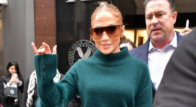 J Lo: 'Director wanted to see my boobs – a bit of the Bronx came out'