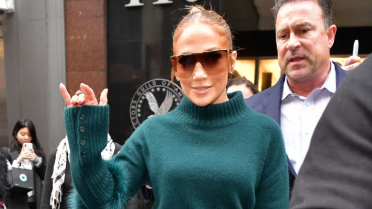 Jennifer Lopez is starring in crime drama Hustlers