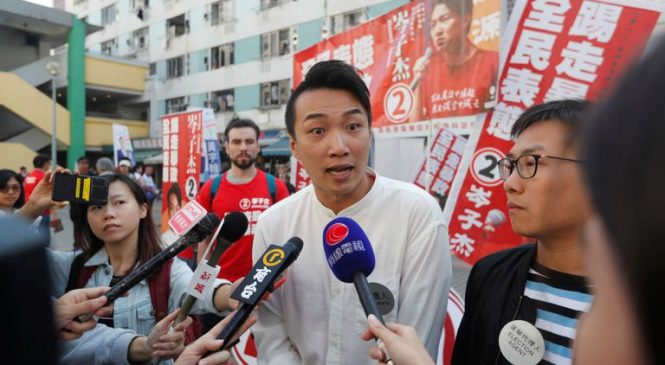 Pro-democracy candidates make big gains in Hong Kong elections