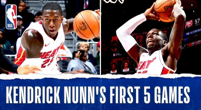 Tyler Herro, Kendrick Nunn credit Heat's culture for their success