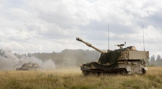 BAE Systems awarded $249.2 million modification for self-propelled Howitzers