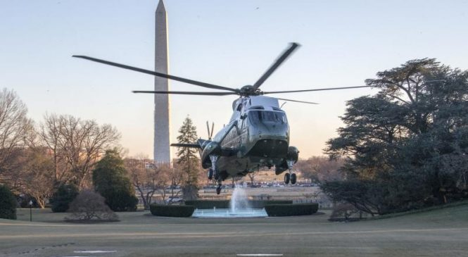 GE nabs $11.1M for engine upgrades on presidential helicopter fleet