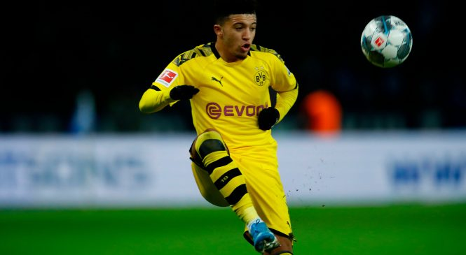 Chelsea ready to 'break transfer record' to sign Borussia Dortmund and England star Jadon Sancho ahead of Man United and Liverpool