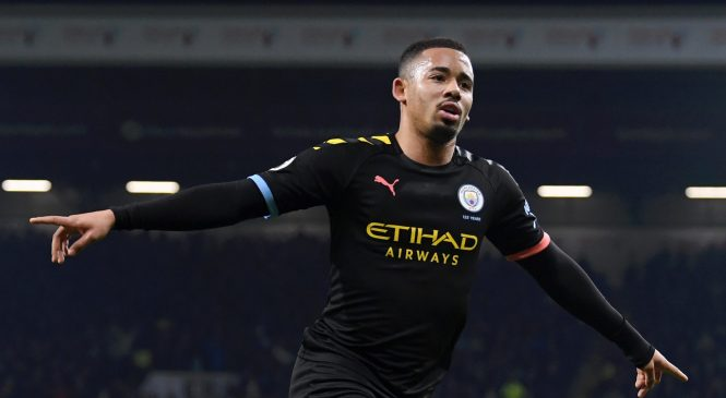 Gabriel Jesus inspires impressive Man City victory at Burnley to close the gap on Liverpool