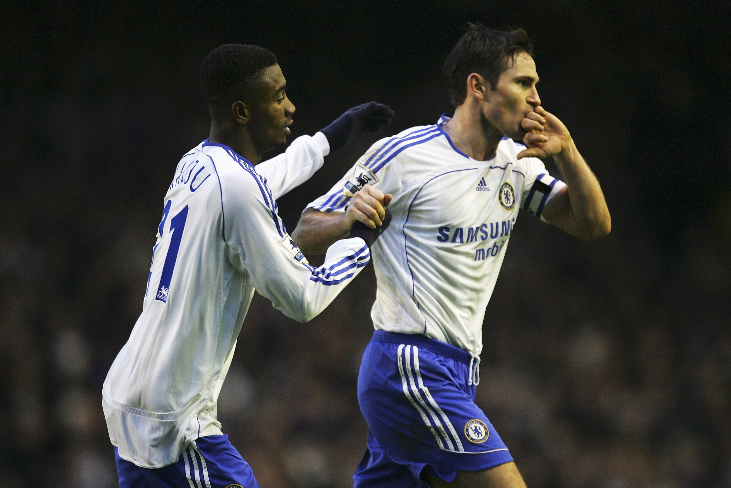 Lampard's goal was an absolute peach