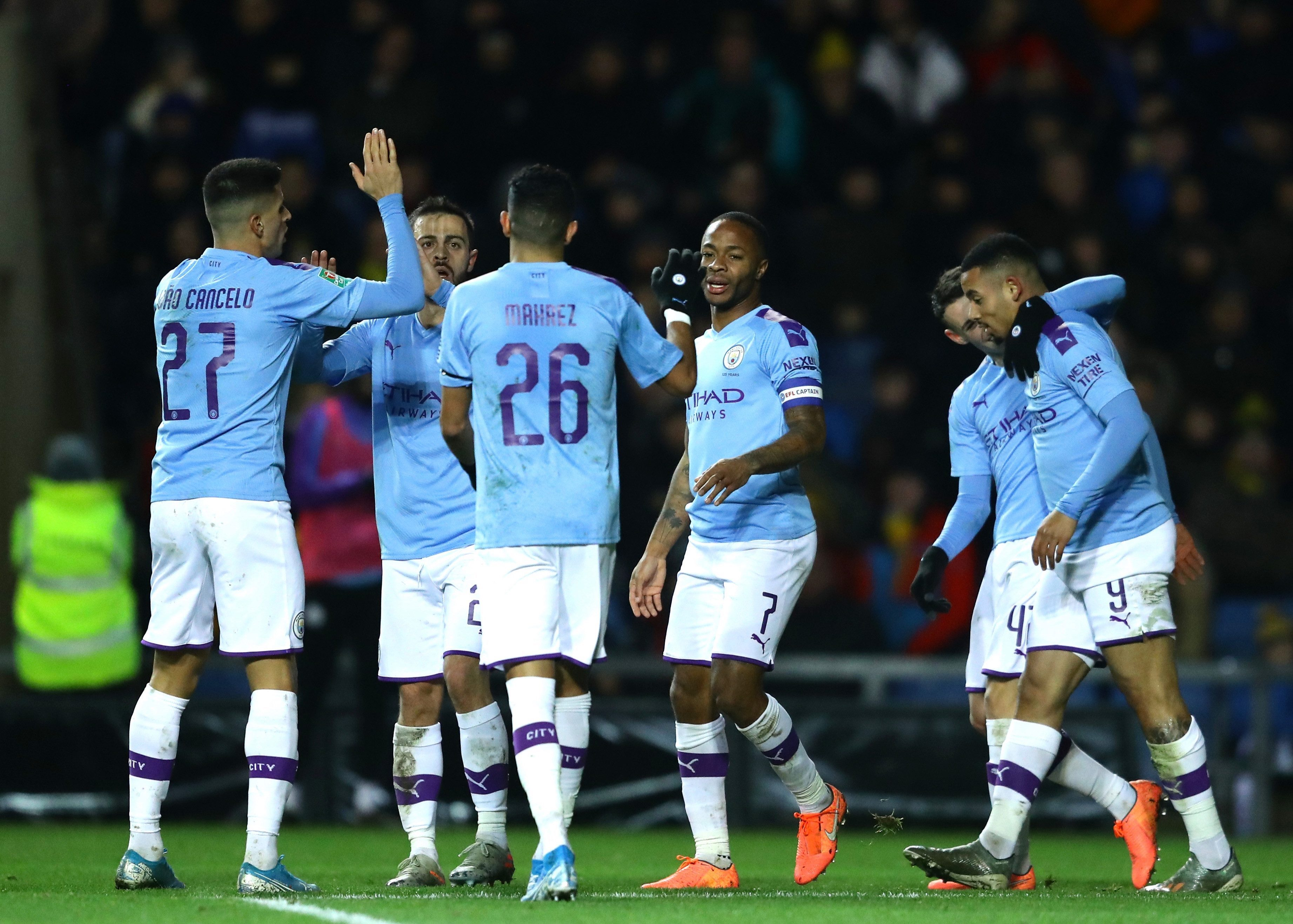 Carabao Cup RESULTS: Manchester City see off Oxford, Man United batter Colchester and Leicester edge past Everton on penalties