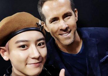 Look: Ryan Reynolds meets EXO in South Korea