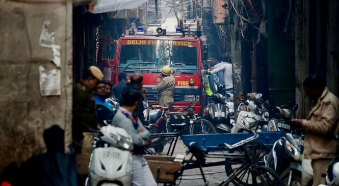 Devastating factory fire kills at least 43 in Indian capital