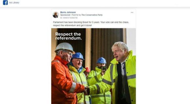 Tories quadruple spending on Facebook ads