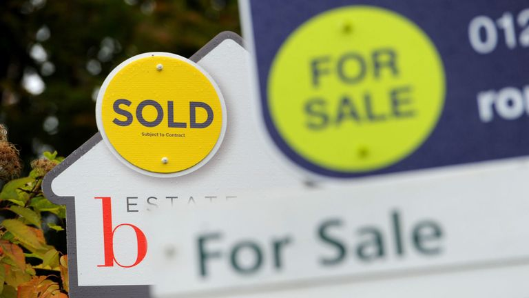 The study claims the average price of a home in major UK cities has increased by nearly £90,000