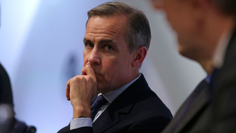 Mark Carney said preparations for no-deal since the end of last year had informed the improved picture