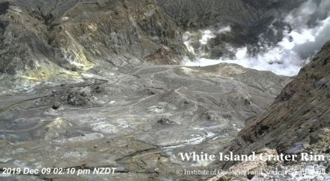 New Zealand volcano erupts: Five killed and several tourists missing