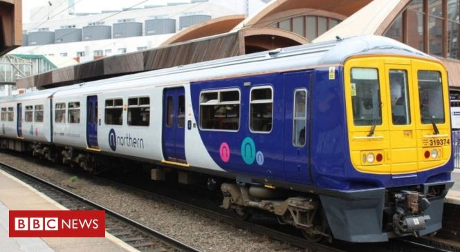 Northern could lose rail franchise, says Grant Shapps