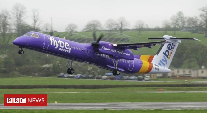 Flybe tight-lipped over collapse threat