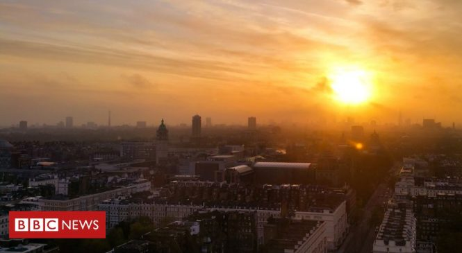 Climate change: Last decade UK's 'second hottest in 100 years'