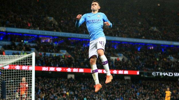 Manchester City 4-1 Port Vale, FA Cup third round