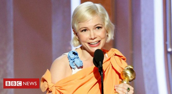 Golden Globe Awards: Michelle Williams praised for women's rights speech