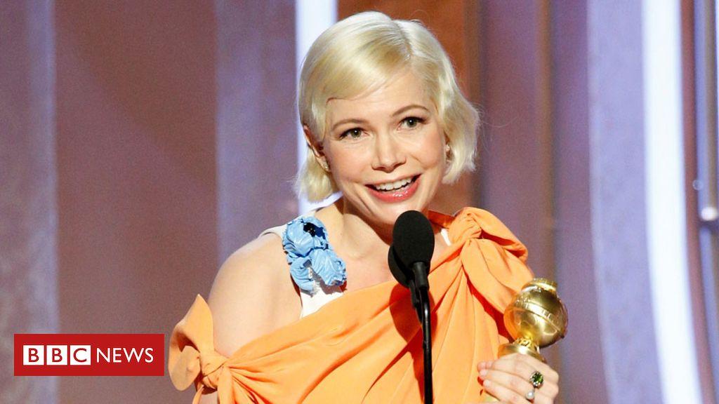 Golden Globe Awards: Michelle Williams praised for women's rights speech