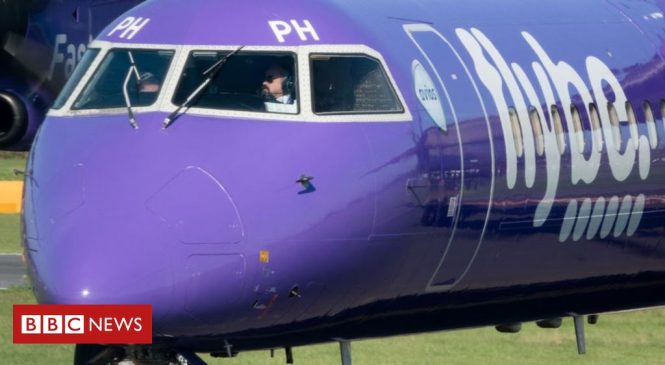 Flybe: Government strikes a deal to rescue troubled airline