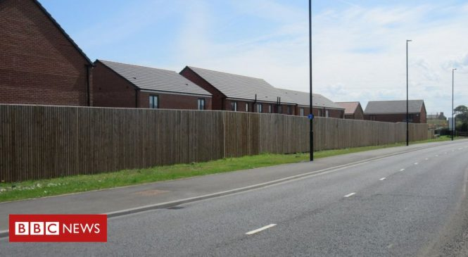 New UK housing 'dominated by roads'