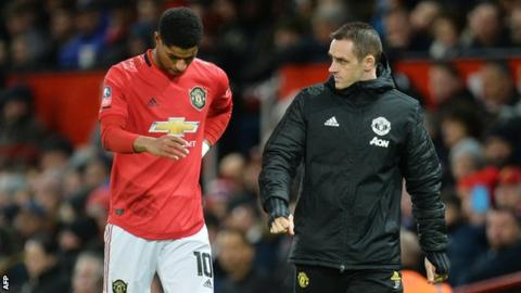 Marcus Rashford: Ole Gunnar Solskjaer 'has to take some blame', says Ian Wright