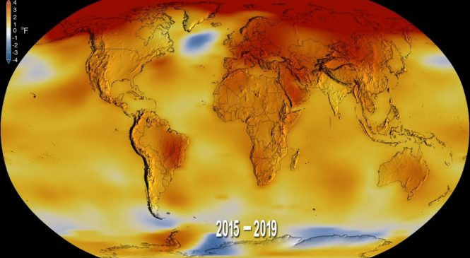 2019 was the second warmest on record, NASA and NOAA confirm