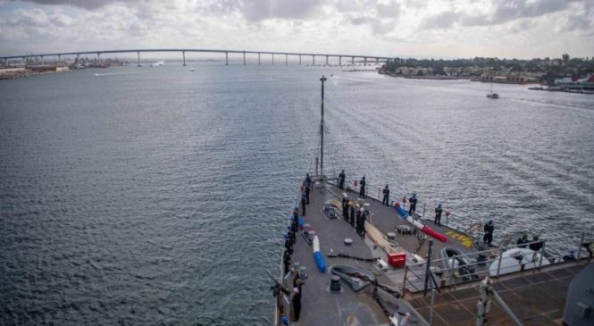 GenDyn contracted for modernization, repairs on USS Harpers Ferry