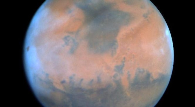 Mars loses water to space during warm, stormy seasons