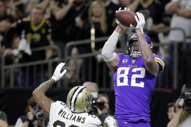 NFL playoffs: Minnesota Vikings stun New Orleans Saints in overtime