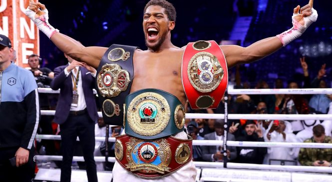Boxing news: Anthony Joshua vs Oleksandr Usyk meeting takes place as AJ posts public picture