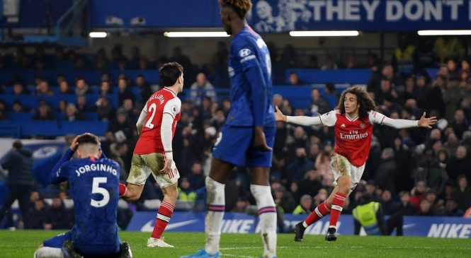 Chelsea 2-2 Arsenal: Perry Groves slams Frank Lampard's 'terrible' team after home draw with ten-man Gunners