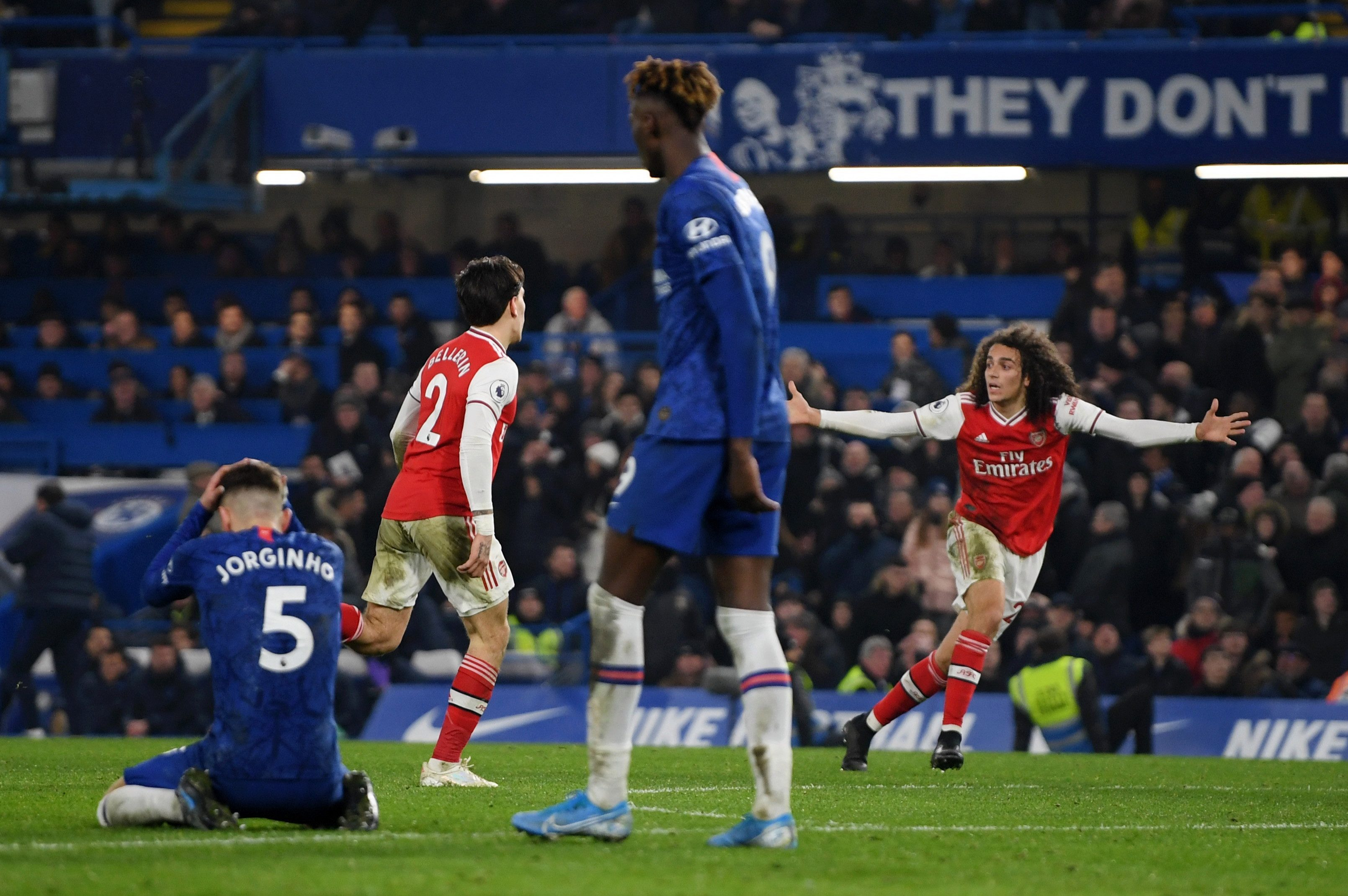 Hector Bellerin scored a dramatic equaliser for Arsenal in his first start since December 5. The Spaniard was also handed the captain's armband by Mikel Arteta