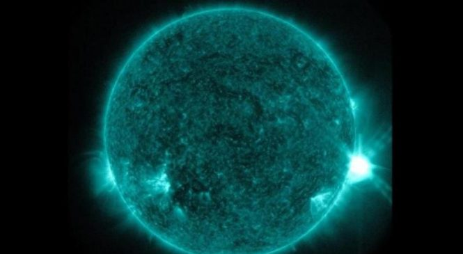 Scientists pinpoint release of energy that powered series of solar flares