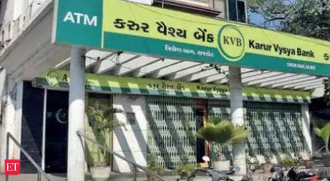 Karur Vysya Bank CEO, MD resigns