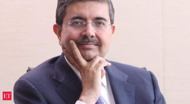 Consolidating environment presents growth opportunities for Kotak Mahindra Bank: Uday Kotak